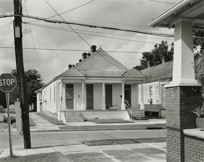"New Orleans, 1985, N81-8510-34-177, 8""x10"" gelatin silver chloride contact print"