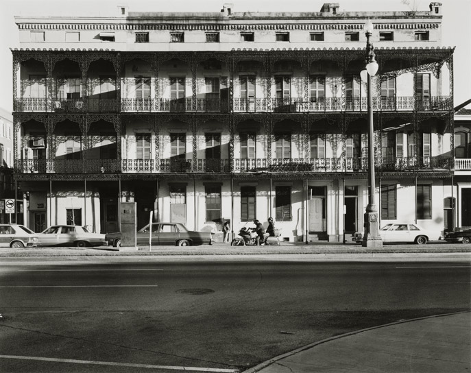 "New Orleans, 1985, N81-8511-11-277, 8""x10"" gelatin silver chloride contact print"