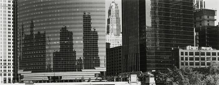 "Chicago, 2008, C82-0805-06-06, 8""x20"" gelatin silver chloride contact print"