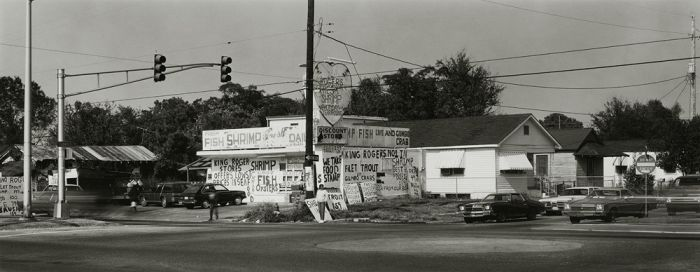 "New Orleans, 1984, N82-8511-02-11, 8""x20"" gelatin silver chloride contact print"