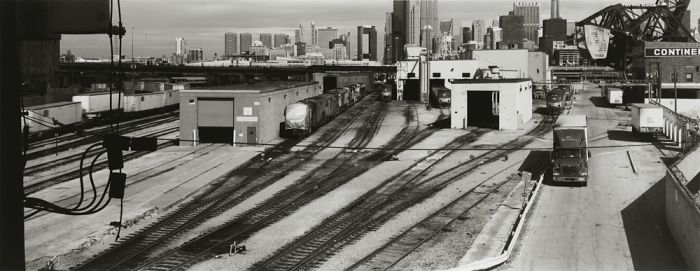 "Chicago, 2008, C82-0810-08-108, 8""x20"" gelatin silver chloride contact print"